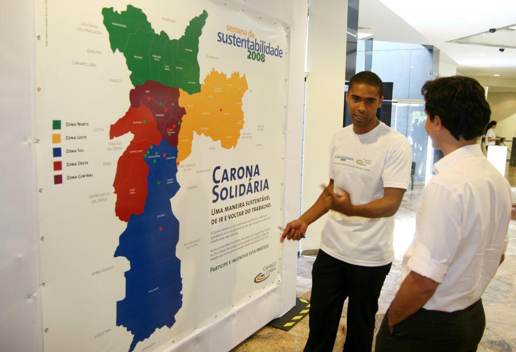 Incentivo à prática da Carona Solidária na Semana da Sustentabilidade